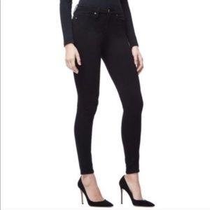 Good American Black Skinny High Waist Jeans 391